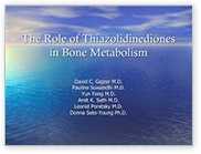 The Role of Thiazolidinediones in Bone Metabolism