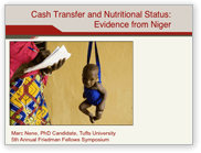 Cash Transfer and Nutritional Status: Evidence from Niger